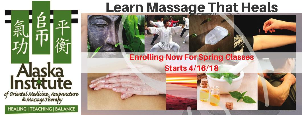 Enrolling Now for Massage That Heals